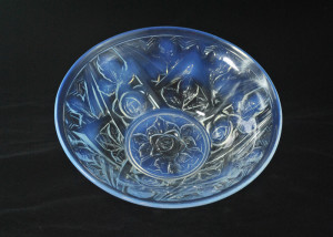 Large opalescent bowl