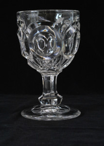goblet with ovals