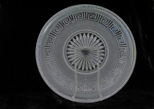 greek key pattern bowl