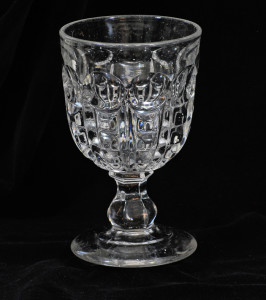 Drinking glass,. Possibly Derbyshire?