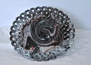 basket-weave plate